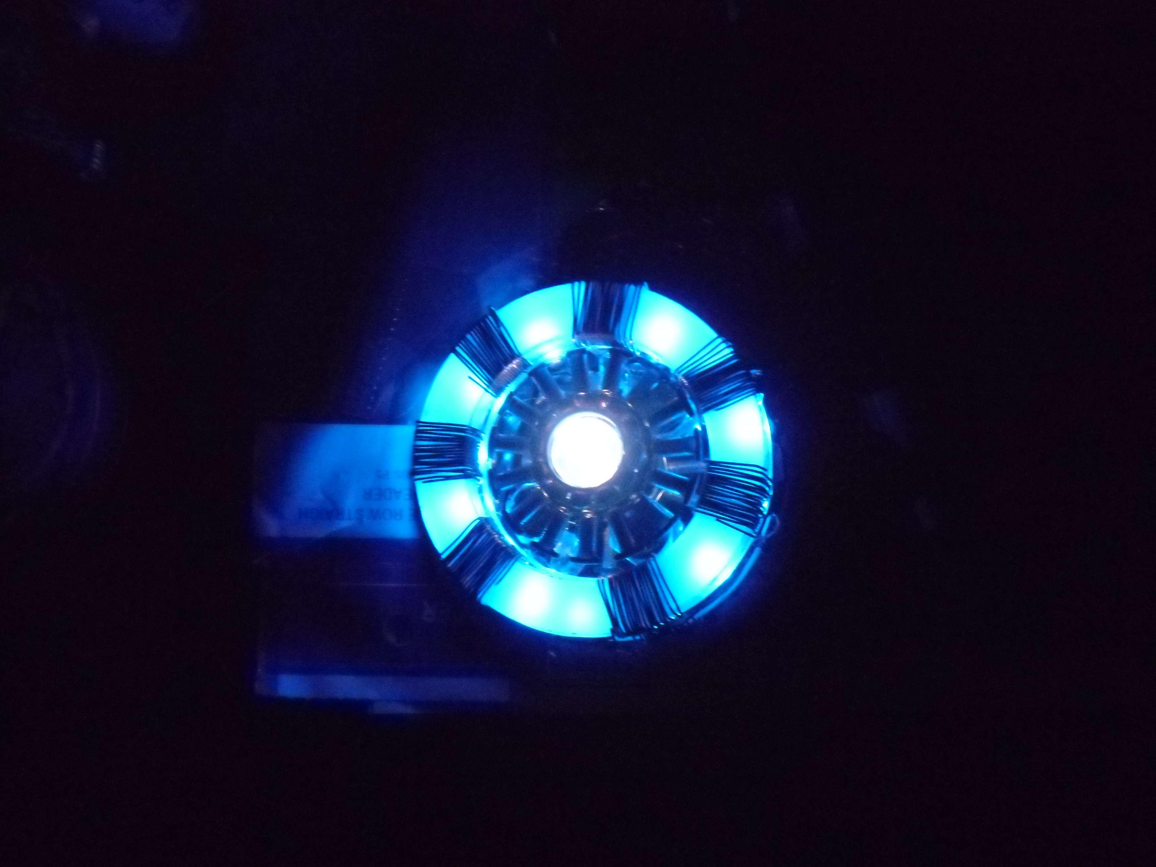 Teensy Powered Arc Reactor Replica